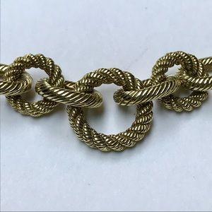 Judith Ripka Gold Clad & Diamonique Necklace